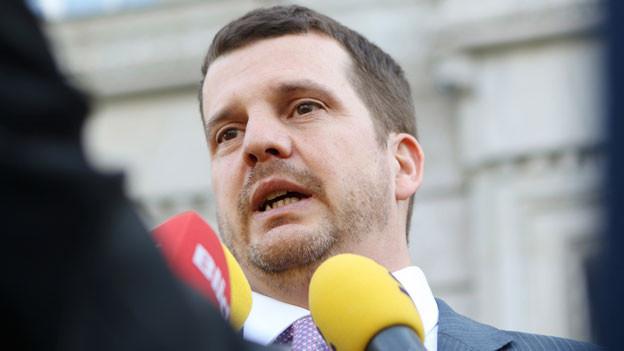Hermann  Lei habe sich «einen Sprung in seiner politischen Karriere erhofft», meinte der Richter.