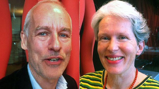 Bruno Imthurn und Susanne Lippmann-Rieder. Portraitbilder.