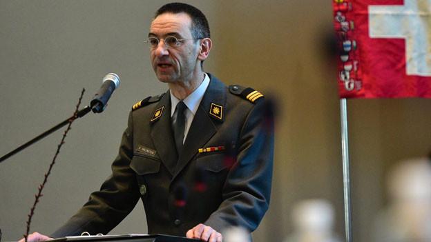 Stefan Holenstein übernimmt das Präsidium der Schweizerischen Offiziersgesellschaft.