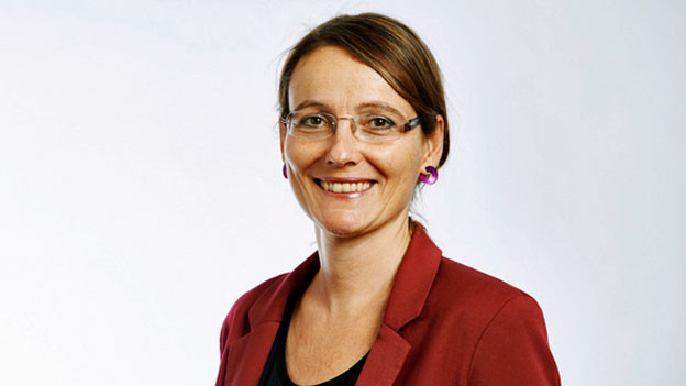 Corinne Schärer, Geschäftsleiterin Unia.