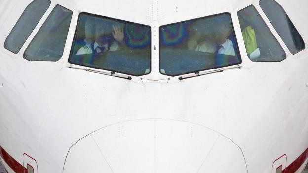 Aussenansicht eines Cockpits