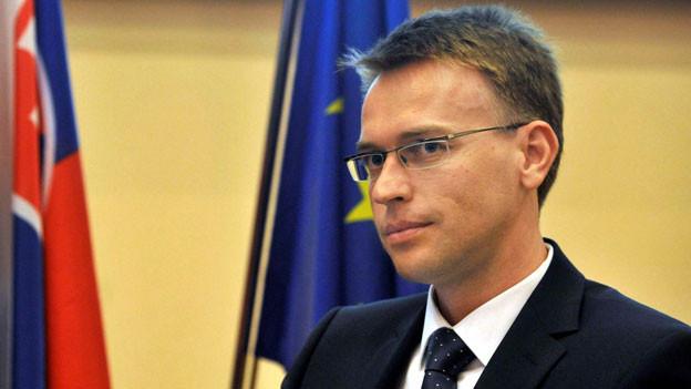 Peter Stano, Sprecher des slowakischen Aussenministeriums.