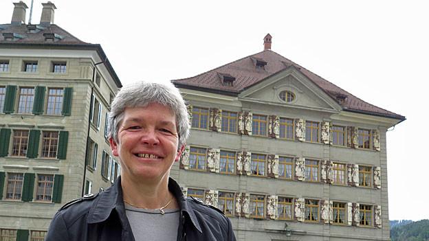 Dorothea Altherr ist unlängst aus ihrer Wahlheimat Frankreich ins Appenzellerland zurückgekehrt.