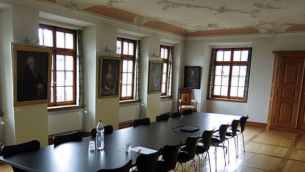 Paläste statt Holzhäuser: Trogen ist wegen der Zellweger-Dynastie kein normales Appenzeller Dorf.