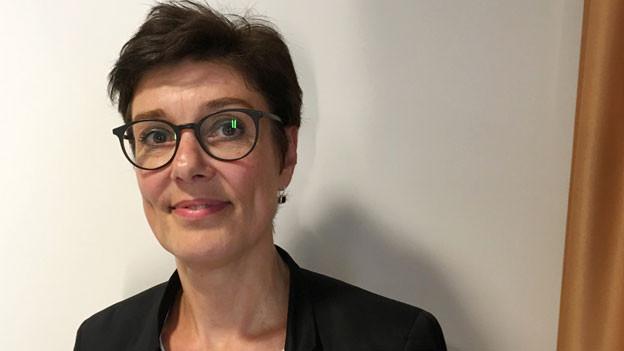 Heidrun Buttler, Leiterin Fahrplan und Angebot SBB.