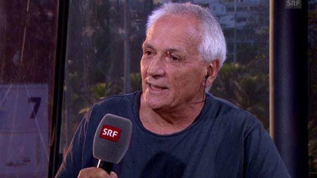 Ruedi Leuthold, Journalist in Rio.
