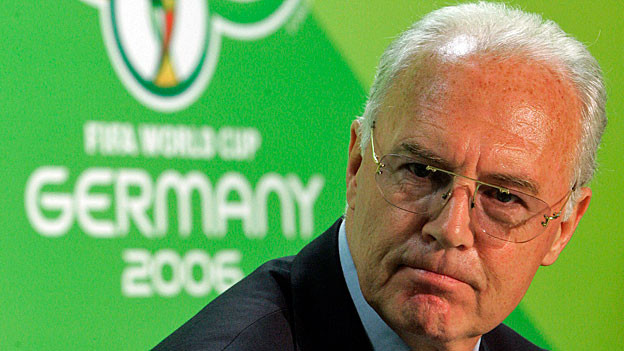 Franz Beckenbauer. Portraitbild.