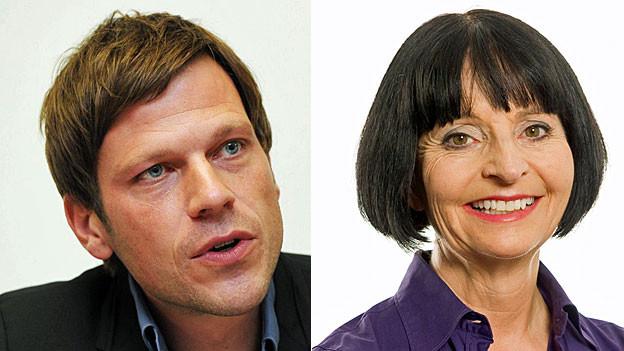 Markus Theunert und Clivia Koch. Portraiitbilder.