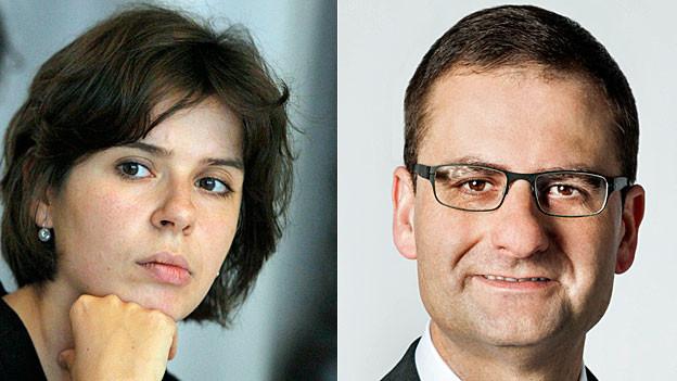 Doris Bianchi und Martin Kaiser. Portraitbilder.