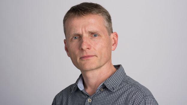 Christian Mensch, Leiter der Redaktion Basel bei der Schweiz am Sonntag.
