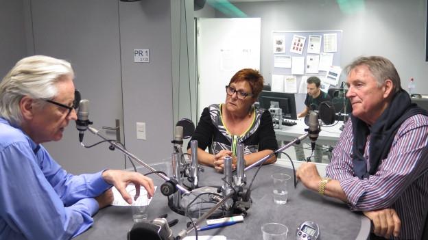 unsere Gäste diskutieren im Studie von SRF4News