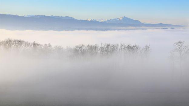 Herbst über der Nebeldecke