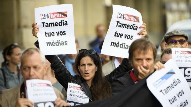 Protest der Redaktionen