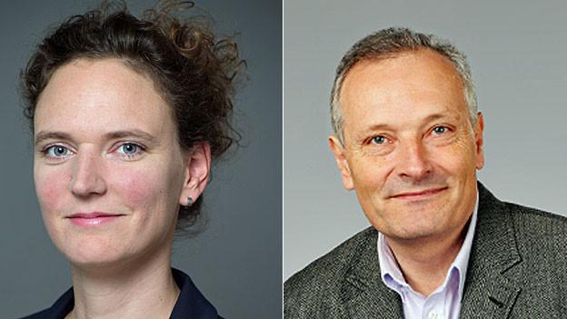 Franziska Ehrler und Christian Suter. Portraitbilder.