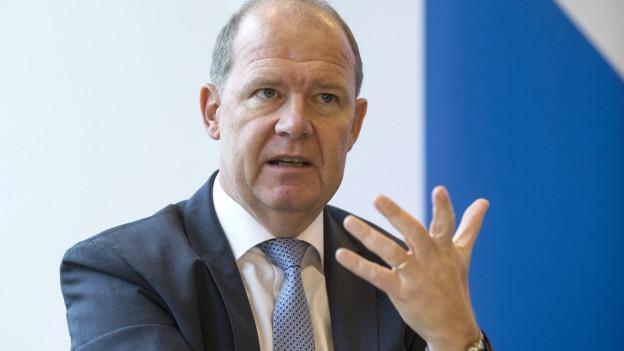 Der Präsident des Arbeitgeberverbandes, Valentin Vogt.