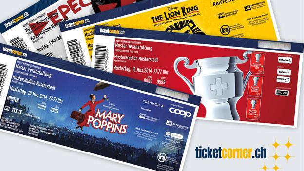 Ticketcorner geht mit Starticket zusammen. Unter welchem Namen das neue Unternehmen auftreten wird, ist noch unklar.