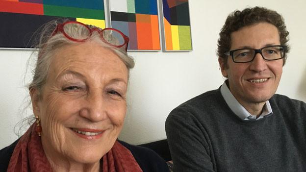Cristina Kruck und ihr Sohn Stéphane Laederich.