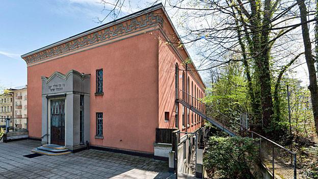 Synagoge der Israelitischen Religionsgemeinschaft in Zürich.