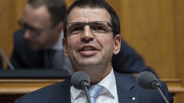 FDP-Nationalrat Matthias Jauslin.