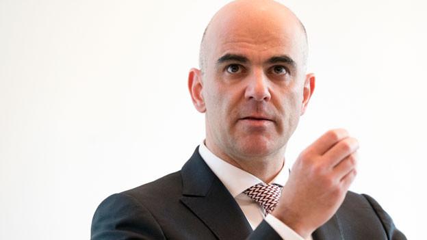Portrait Bundesrat Alain Berset.