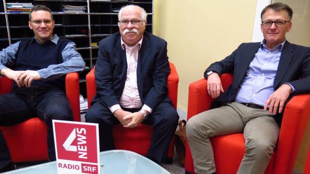 unsere Gäste im IZ von Radio SRF