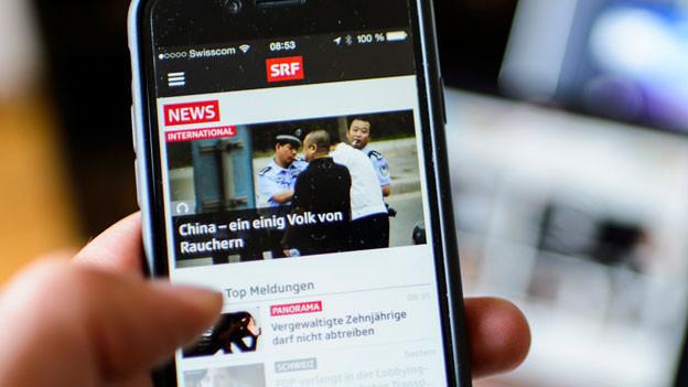 Mehr digitale Angebote, mehr Informationen, weniger beliebige Unterhaltungsshows. Der Bundesrat präsentiert seinen Bericht zum Service Public der SRG.