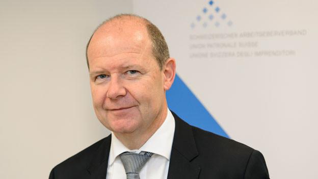 Valentin Vogt, Präsident des Schweizer Arbeitgeberverbandes.