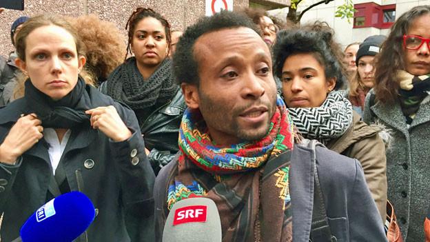 Mohamed Wa Baile. Der Kenianier ist vor dem Zürcher Bezirksgericht mit seiner Klage wegen Racial Profiling abgeblitzt.