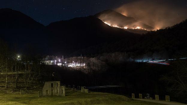Der drohende Waldbrand
