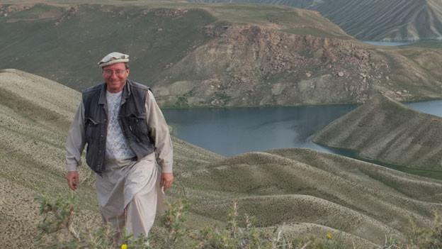 Thomas Ruttig unterwegs in der Provinz Bamian, Afghanistan.