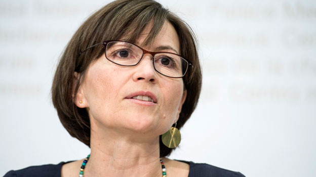 Regula Rytz, Präsidentin der Grünen.