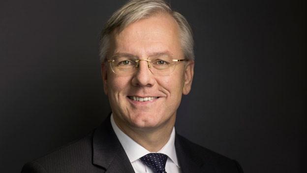 Portrait Christoph Franz, Verwaltungsratspräsident Roche Holding AG.