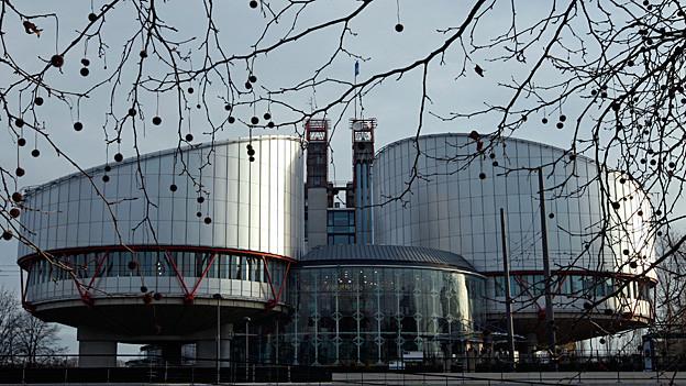 Blick auf den Menschenrechtsgerichtshof in Strassburg.