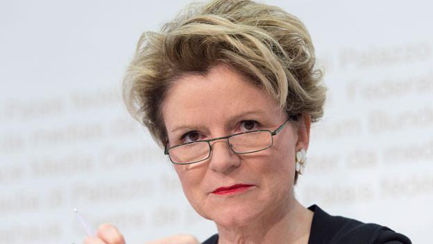 Marie-Gabrielle Ineichen-Fleisch, Direktorin Staatssekretariat fuer Wirtschaft (SECO).