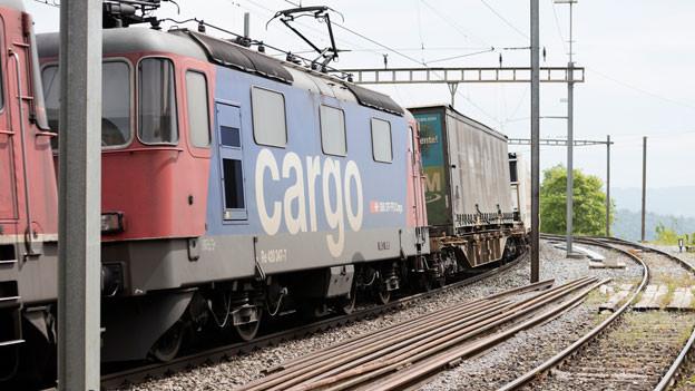 Mit dem nächsten Fahrplanwechsel wird der Güterverkehr aufgewertet.