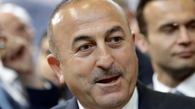 Der türkische Aussenminsiter Mevlut Cavusoglu wird nicht wie geplant im Hilton Hotel in Zürich-Opfikon auftreten.