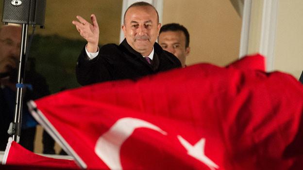 Der türkische Aussenminister Mevlüt Cavusoglu konnte nicht in Zürich auftreten.
