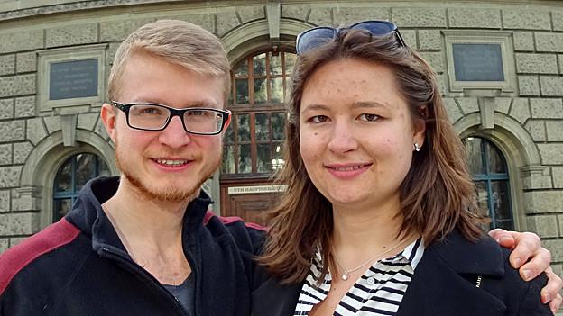 Lorenz Keysser und Marie-Claire Graf.