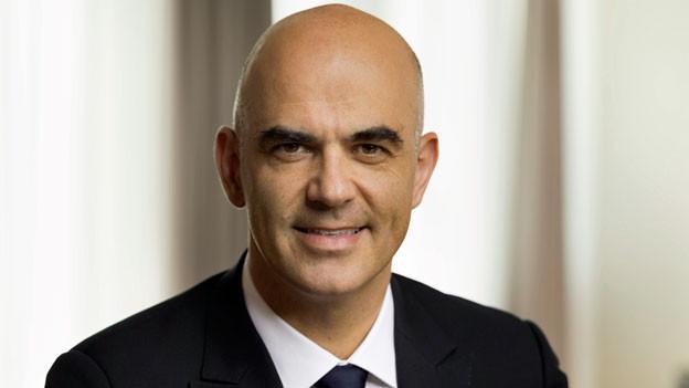 Alain Berset, der Vorsteher des Eidgenössischen Departements des Innern, EDI.