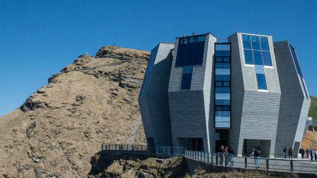 Das neue Gipfelrestaurant auf dem Monte Generoso