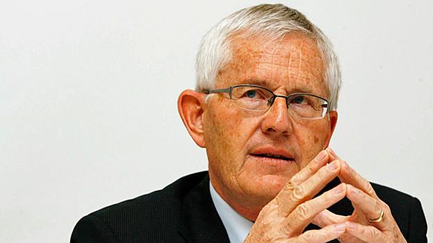 Altbundesrat Kaspar Villiger. Portraitbild von 2009.