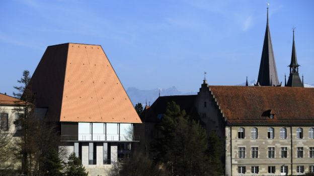 Das neue Parlamentsgebäude in Lausanne