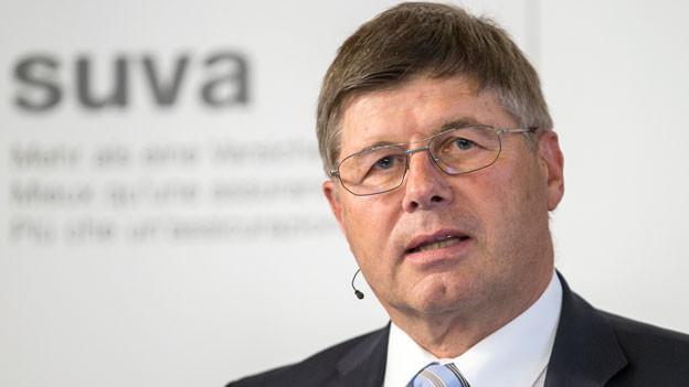 Markus Dürr, Präsident des Verwaltungsrates der Suva.