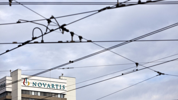 Der Hauptsitz des Pharmakonzerns Novartis in Basel.