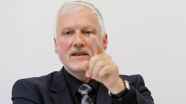 Peter Gomm, Präsident der Konferenz der kantonalen Sozialdirektorinnen und Sozialdirektoren (SODK).