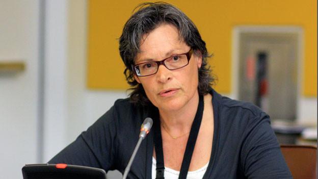 Sigrid Lüber, Gründerin der Zürcher Meeresschutz-Organisation OceanCare.