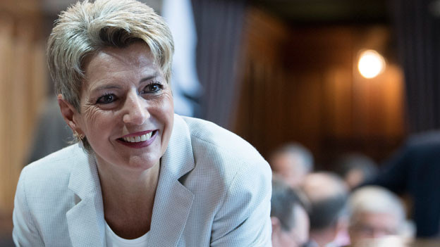 Karin Keller-Sutter, St. Galler FDP-Ständerätin