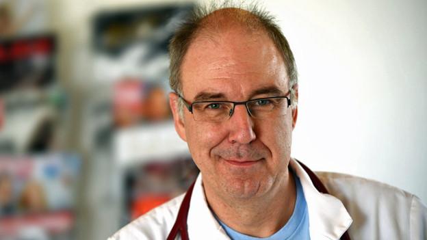 Roger von Moos, Chefarzt Onkologie am Kantonsspital Graubünden.