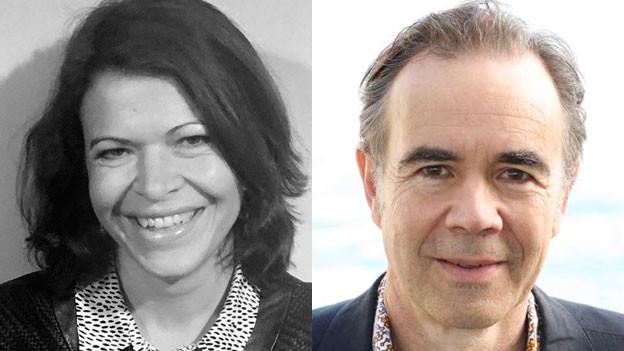 Cordula Seger, Engadiner Kulturwissenschaftlerin und Alex Willener, Regionalentwickler an der Hochschule Luzern.