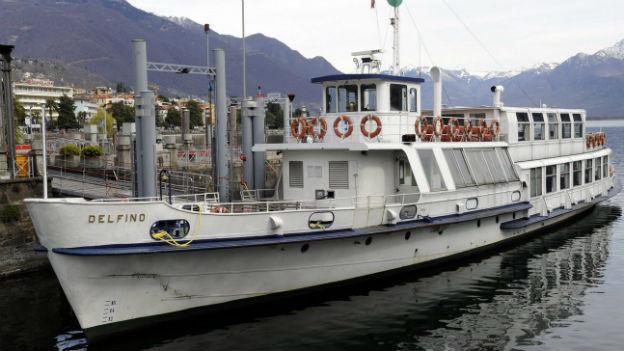 Streik im Schweizer Becken des Lago Maggiore